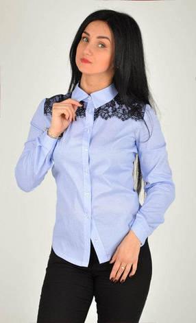 """Привлекательная женская рубашка """"Кукла"""" размеры 50, фото 2"""