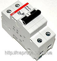abb SH 202 B 6A- Автоматический выключатель abb(абб) -2-х полюс. автомат