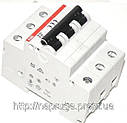 Автоматический выключатель abb(абб) 3-х полюсный  -автомат abb SH 203 B10 A, фото 2