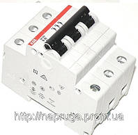 Автоматический выключатель abb(абб) 3-х полюсный  -автомат abb SH 203 B25 A