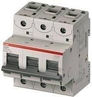 Автоматический выключатель abb(абб) 3-х полюсный силовой автомат abb S203 B 100А, фото 1