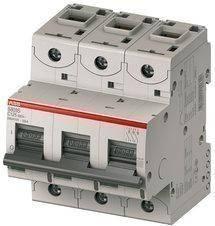 Автоматический выключатель abb(абб) 3-х полюсный силовой автомат abb S203 B 125А