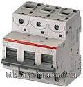 Автоматический выключатель abb(абб) 3-х полюсный силовой автомат abb S203 B 125А, фото 3