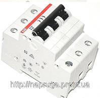 Автоматический выключатель abb(абб) 3-х полюсный  -автомат abb SH 203 B6 A, фото 1