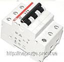 Автоматический выключатель abb(абб) 3-х полюсный  -автомат abb SH 203 B50 A, фото 2