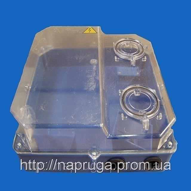 Ящик -бокс пластиковый, герметичный под 3-фазный счетчик производсво Черновцы