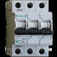 Автоматический выключатель Eaton (Moeller) PL4, C 25А 3- пол., 4,5kA