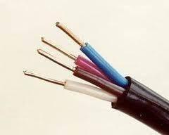 ВВГнг 4х6 силовой кабель не горючий с медными монолитными жилами