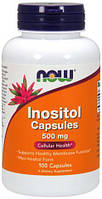 Inositol 500 мг NOW, 100 таблеток