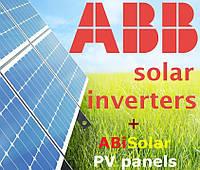 """Солнечная электростанция (инвертор 10 кВт, АВВ, 3 фазы), комплект """"Максимум"""""""