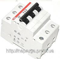 Автоматические выключатели abb(абб) 3- полюсные  -автомат abb SH 203 B 20А