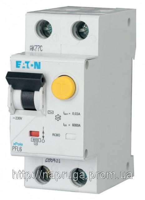 Дифференциальный автомат Eaton-Moeller PFL6 C 40A/30мА