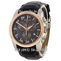 Tissot T-Classic Couturier Chronograph Black-Silver-Gold-Black