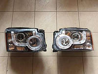 Передние фары на Land Rover Discovery 4 (дорестайл), фото 1