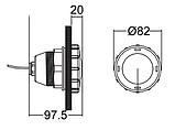 Прожектор галогенный Emaux UL–P50 (20 Вт), фото 7