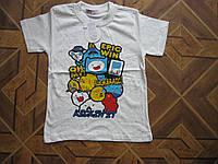 Детская футболка для мальчика 5-8 лет Ту/рция хлопок, фото 1