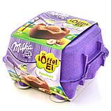 Шоколадные яички в лотке Milka «Löffel Ei Oreo» cо сливочным муссом и печеньем орео, 144 г., фото 2