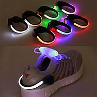 Украшение для обуви: Светящийся задник!