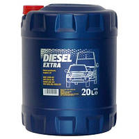 Масло моторное MANNOL Diesel Extra п/синт. 10w40 20L CG-4/SJ (шт.)