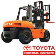 Японский погрузчик Toyota, Японский автопогрузчик Toyota, грузоподъёмностью от 5 до 8т.
