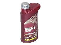 Масло моторное MANNOL Diesel Turbo синтетика 5w40 1L CI-4/SJ (шт.)