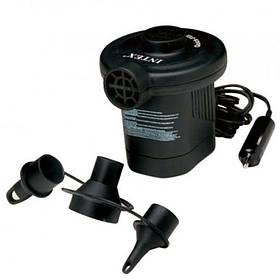 Автомобильный насос компрессор Интекс 66626