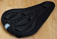 Чехол силиконовый накладка на седло подушка чохол на сідло седушку
