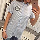Женская красивая блуза с карманами удлиненная сзади (5 цветов), фото 8