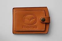 Обложка для водительских прав Mazda.