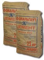 Цемент ПЦ II/Б -Ш-400  тара 25 кг. Фомальгаут Полимин