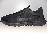 Кроссовки Nike Free Run 3.0 черные