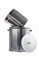 Воскотопка паровая ВТП 17 л с оцинкованой стали, внутренняя корзина из нержавеющей стали