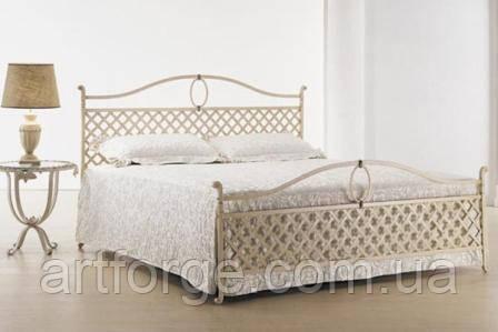 Кованая кровать ИК 016