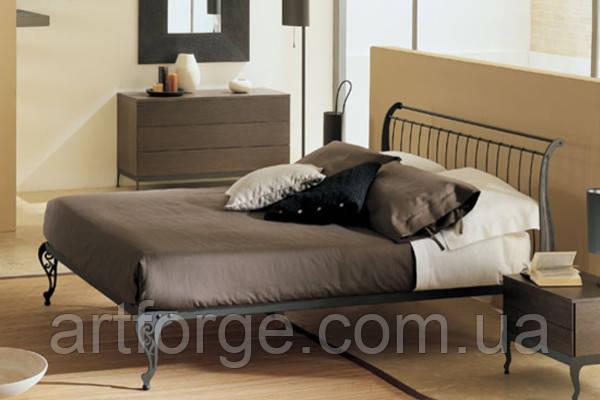Кованая кровать ИК 011