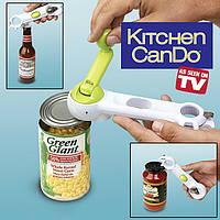 Открывалка Консервный Нож 6 в 1 Kitchen CanDo