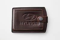 Обложка для водительских прав Hyundai.