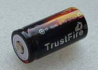 16340 аккумулятор Li-ion TrustFire TF16340 880 mAh мАч литий Trust Fire аккум