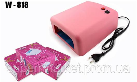 Ультрафиолетовая УФ лампа LeVole LV 818 36 Вт PINK, фото 2