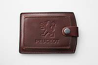 Обложка для водительских прав Peugeot.
