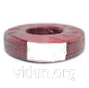 Акустический кабель CCA 2x0,75 мм Чёрно-красный ПВХ 100 м