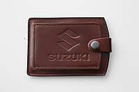 Обложка для водительских прав Suzuki.