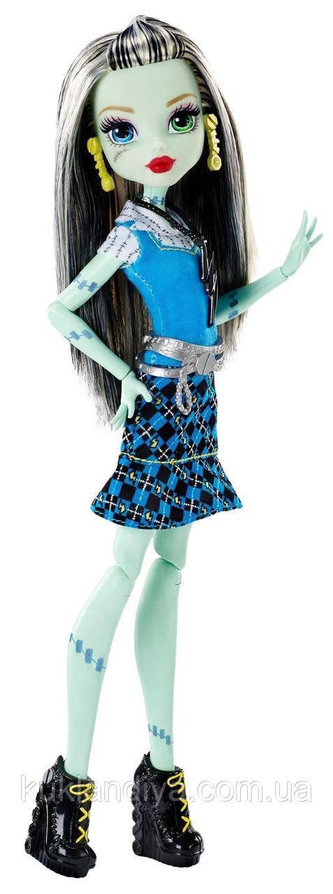 Кукла Monster High Френки Штейн Первый день в школе