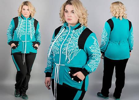 Спортивный костюм Марго (бирюза)