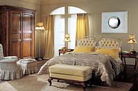 Кованая кровать с мягким изголовьем ИК 068