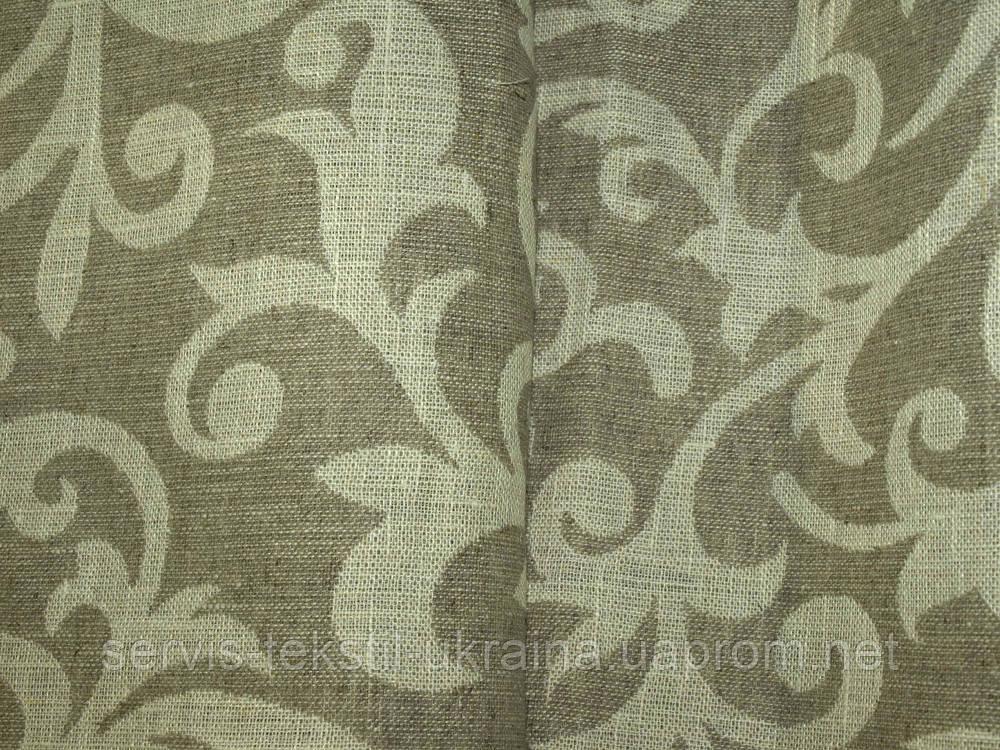 Ткань декоративная 10С169-ШР+С Рис.21 - Злато