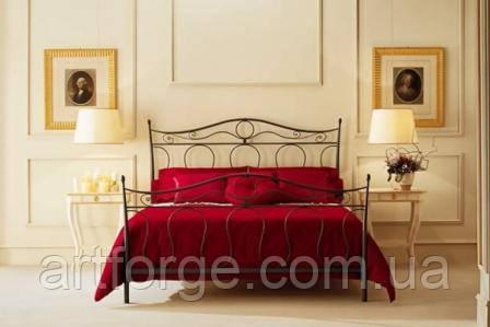 Кованая кровать ИК 076