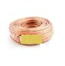 Акустический кабель Cu 2x0,75 мм Прозрачный ПВХ 100 м