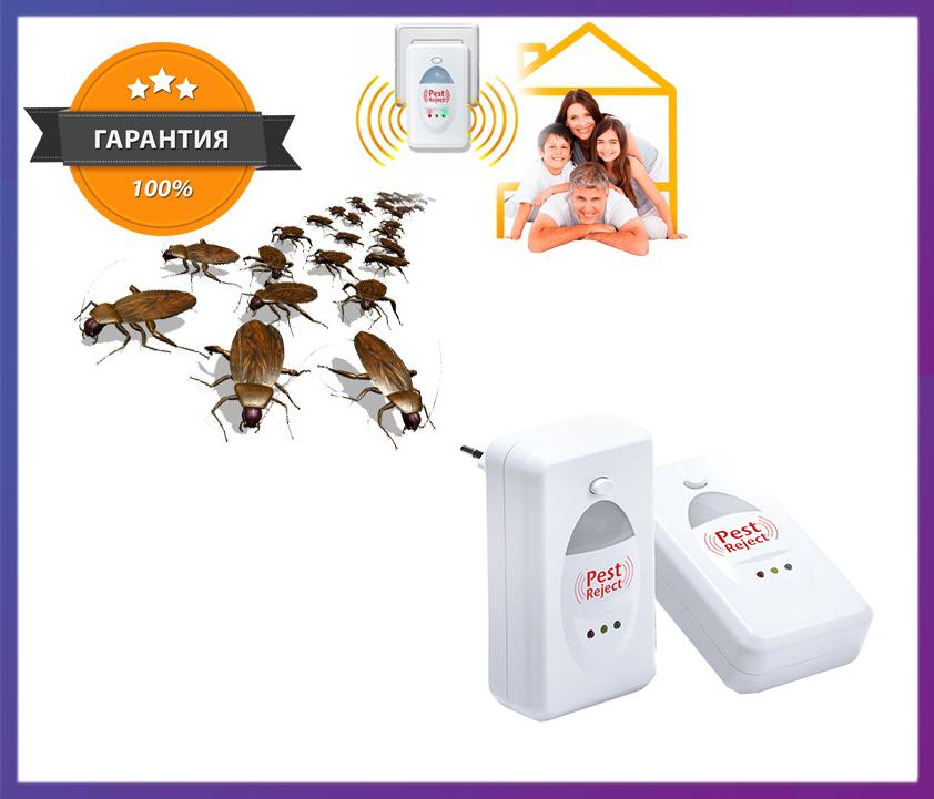 Ультразвуковий відлякувач гризунів та комах Pest Reject
