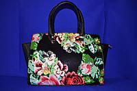 Классическая женская  сумка с цветами Michael Kors