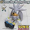 "Игрушка ёж Сильвер из Sonic - ""Silver the Hedgehog"" - 30 см."